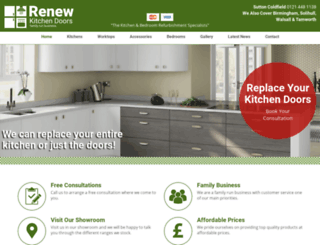 renewkitchendoors.co.uk screenshot