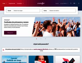 renfe.com screenshot