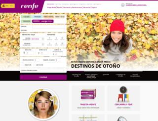 renfe.mobi screenshot