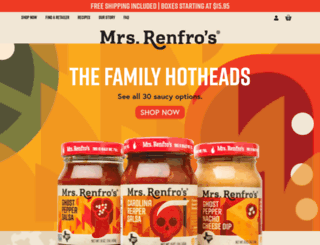 renfrofoods.com screenshot