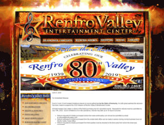 renfrovalley.com screenshot