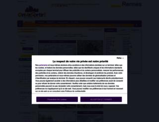 rennes.onvasortir.com screenshot