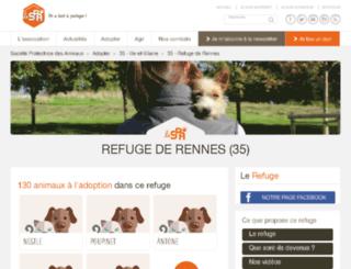 rennes.spa.asso.fr screenshot