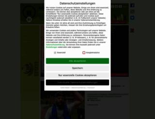 rennsteiglauf.de screenshot