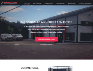 reno-pro.ca screenshot