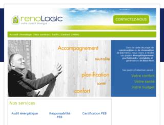 renologic.be screenshot