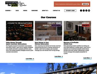 renovatingforprofit.com.au screenshot
