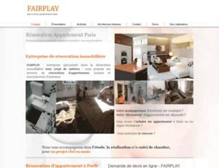 renovation-fairplay.com screenshot