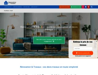 renovationettravaux.fr screenshot