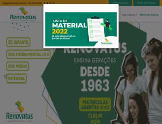 renovatus.com.br screenshot