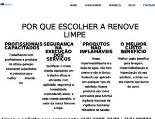 renovelimpe.com.br screenshot