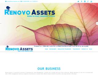renovoassets.com screenshot