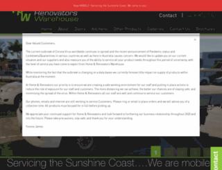 renowarehouse.com.au screenshot