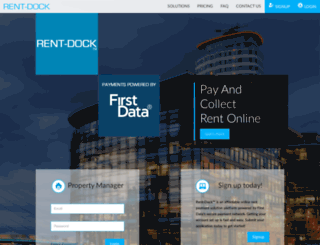 rent-dock.com screenshot