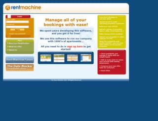 rent-machine.com screenshot