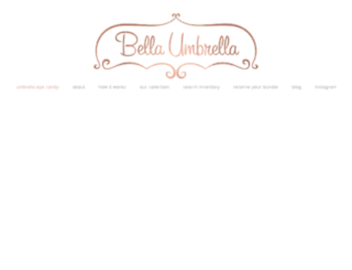 rent.bellaumbrella.com screenshot