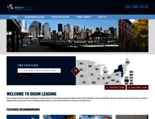 rent.dixonleasing.com screenshot