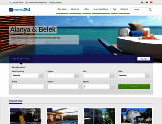 rent24holidays.com screenshot