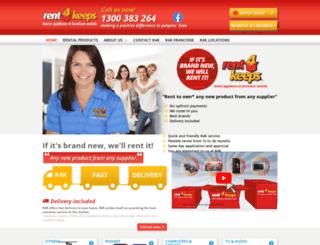 rent4keeps.com.au screenshot