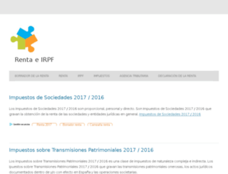 renta-irpf.com screenshot