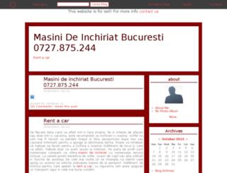 rentacar.bloging.ro screenshot