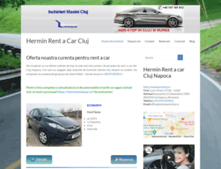 rentacarincluj.ro screenshot