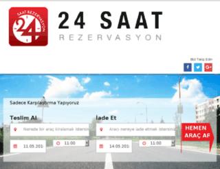 rentacarrehberi.com screenshot