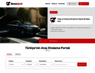 rentacarss.com screenshot