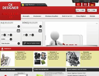 rentacarv4.ckdesigner.net screenshot