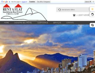 rentaflat.com.br screenshot