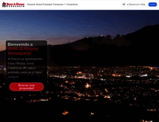 rentahouse.com.ve screenshot
