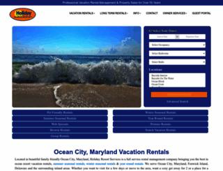 rental.holidayoc.com screenshot