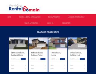 rentaldomain.com.au screenshot
