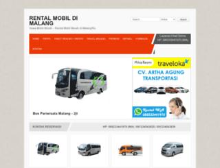 rentalmobilmalangku.com screenshot