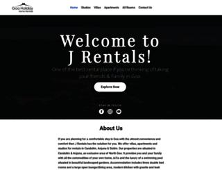 rentalsingoa.com screenshot