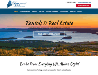 rentalsmaine.com screenshot