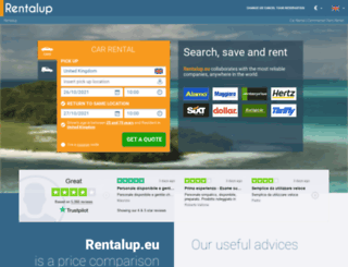 rentalup.eu screenshot