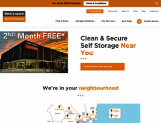rentaspace.com.au screenshot