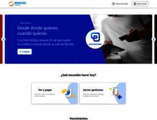 rentasweb.gob.ar screenshot