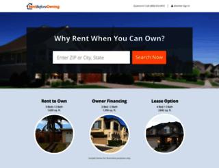 rentbeforeowning.com screenshot