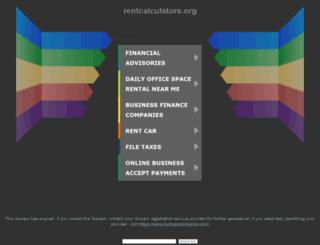 rentcalculators.org screenshot