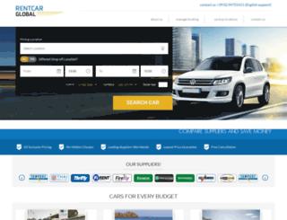 rentcar.global screenshot