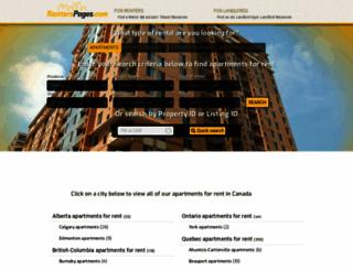 renterspages.com screenshot