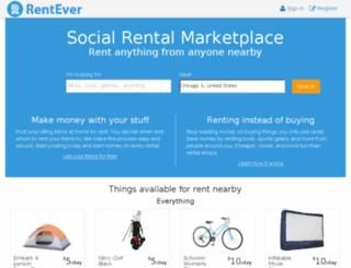 rentever.com screenshot