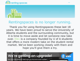rentingspaces.ca screenshot