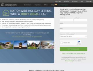 rentmycottage.com screenshot