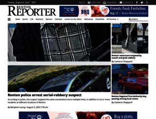 rentonreporter.com screenshot