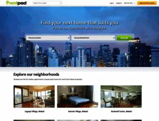 rentpad.com.ph screenshot