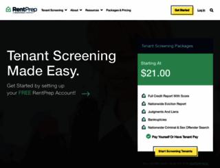 rentprep.com screenshot