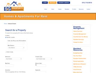 rentsg.rentlinx.com screenshot